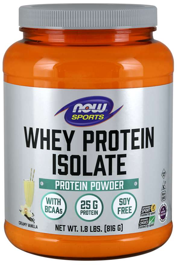 d439ea9fa53 NOW Sports - Whey Protein Isolate - 816 Г 2160 - цена, отзиви, описание —  Healthstore.bg