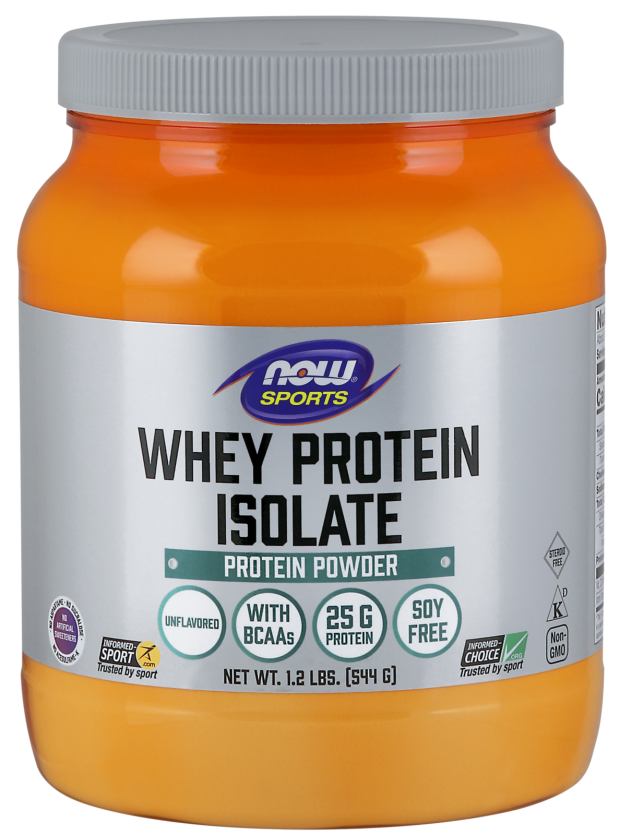 c4a8bb52d7f NOW Sports - Whey Protein Isolate - Неовкусен - 544 Г 2172 - цена, отзиви,  описание — Healthstore.bg
