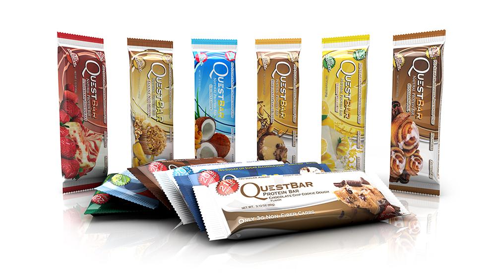 Протеинови барове с 20 гр. протеин изолат и без захар - Quest Bar