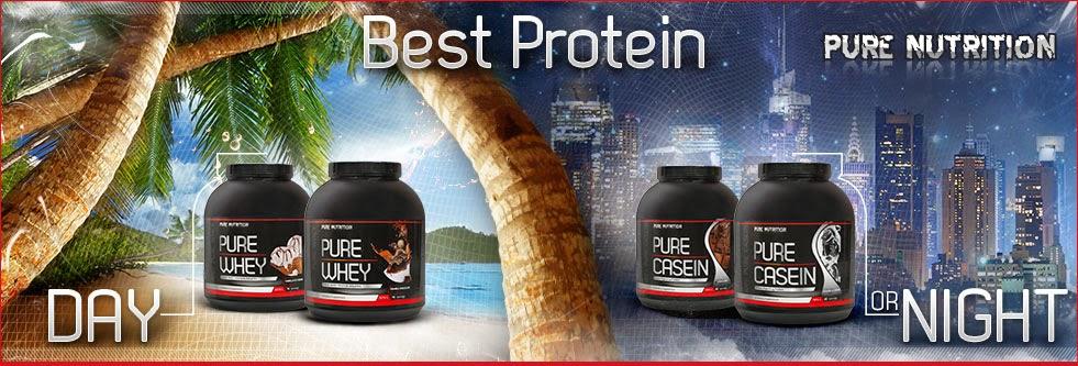 Pure Whey - Висококачествени суроватъчни протеини от  Pure Nutrition