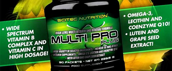 Формула за спортисти Multi Pro от Scitec