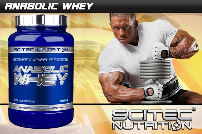 Бленд от висококачествени суроватъчни протеини Anabolic Whey
