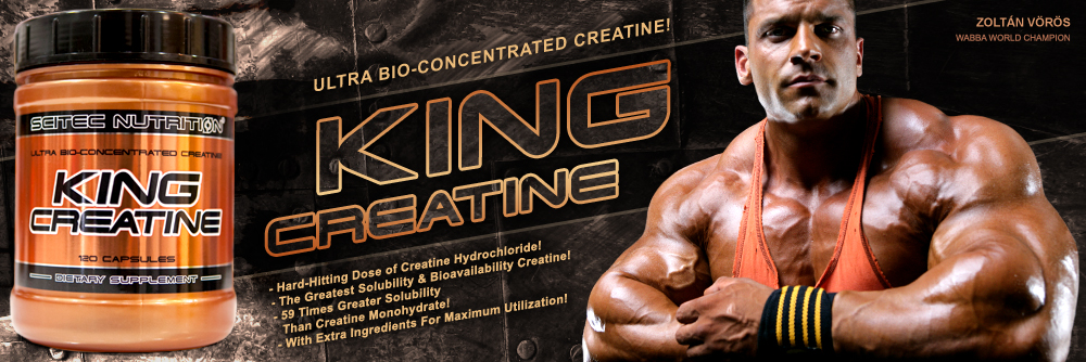 Креатинова матрица King Creatine от Scitec