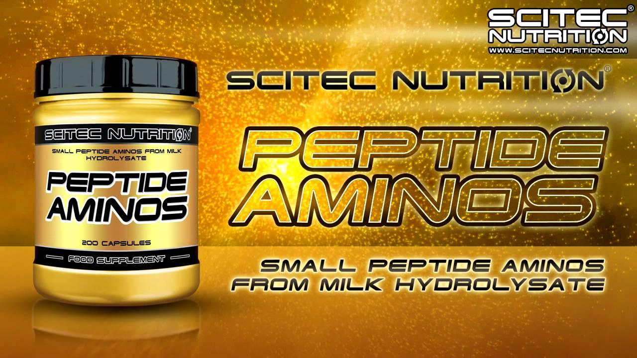 Peptide Aminos доставя на тялото късоверижни и бързоусвоими аминокиселини
