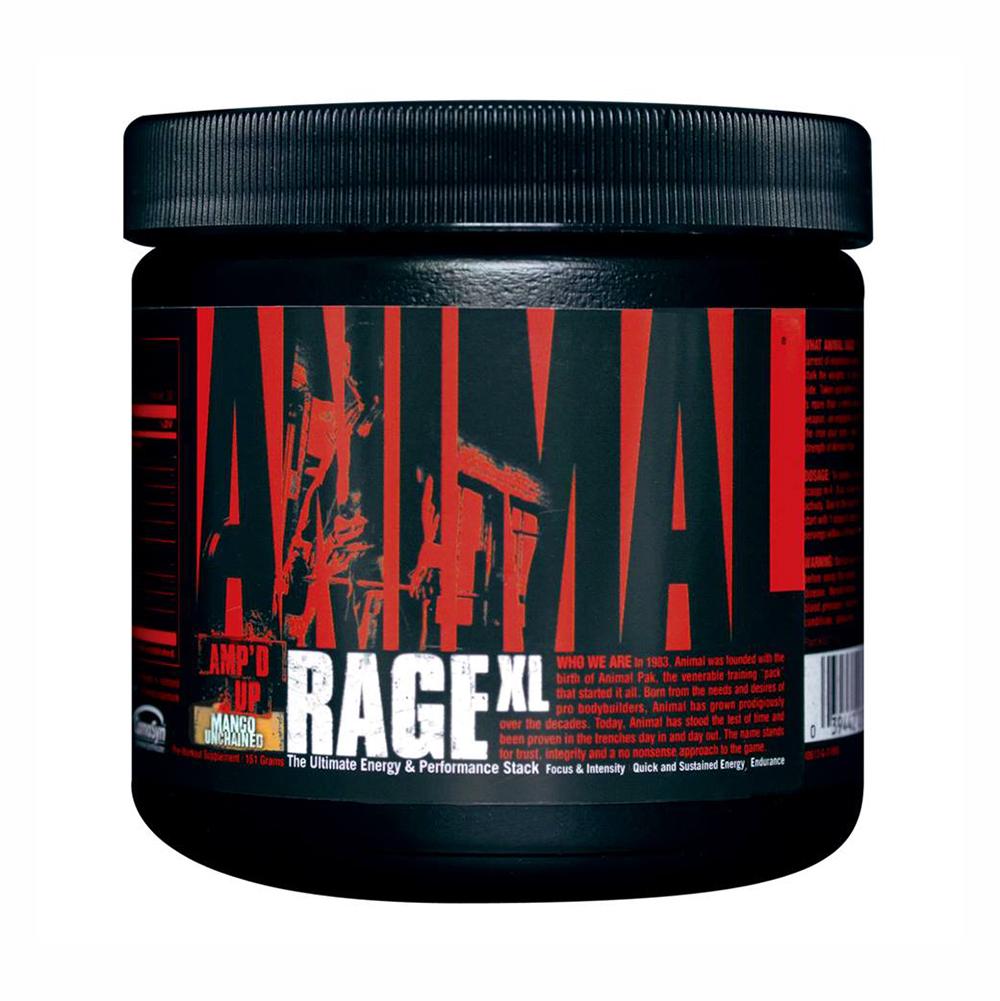 Уникални напомпване, интензивност и издръжливост с новия Animal Rage XL