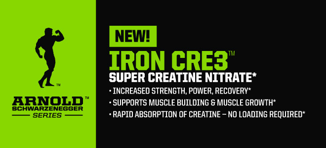 Super Creatine Nitrate - Iron Cre3 от Arnold Series