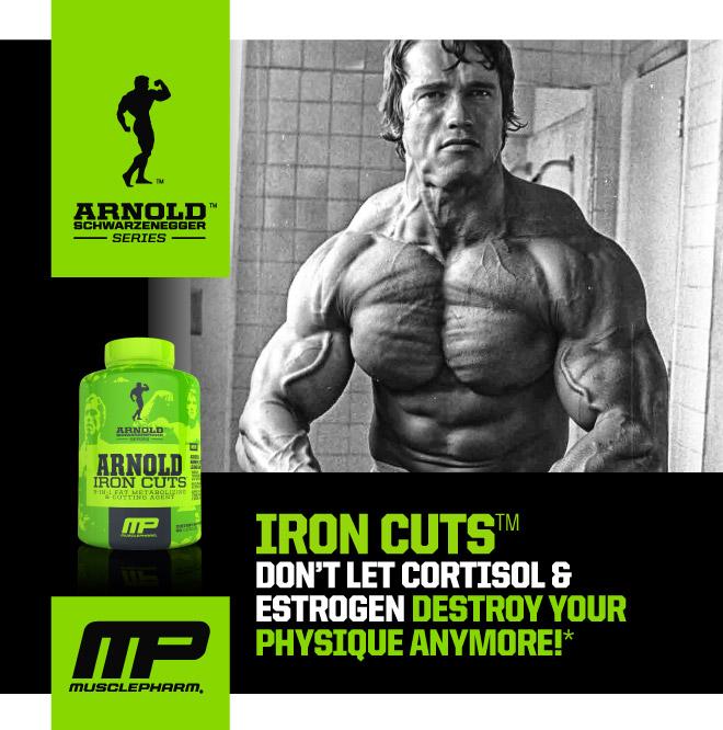 Изгори мазнините с Iron Cuts от Arnold Series!