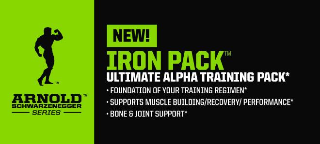 Iron Pack ще зареди максимално тялото Ви с необходимните хранителни вещества за следващата тренировка!