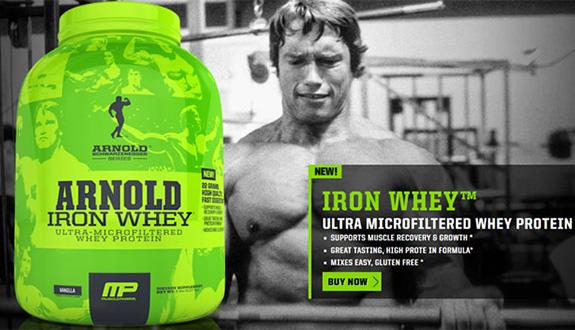 Ултра микрофилтриран суроватъчен протеин Iron Whey от серията Arnold!