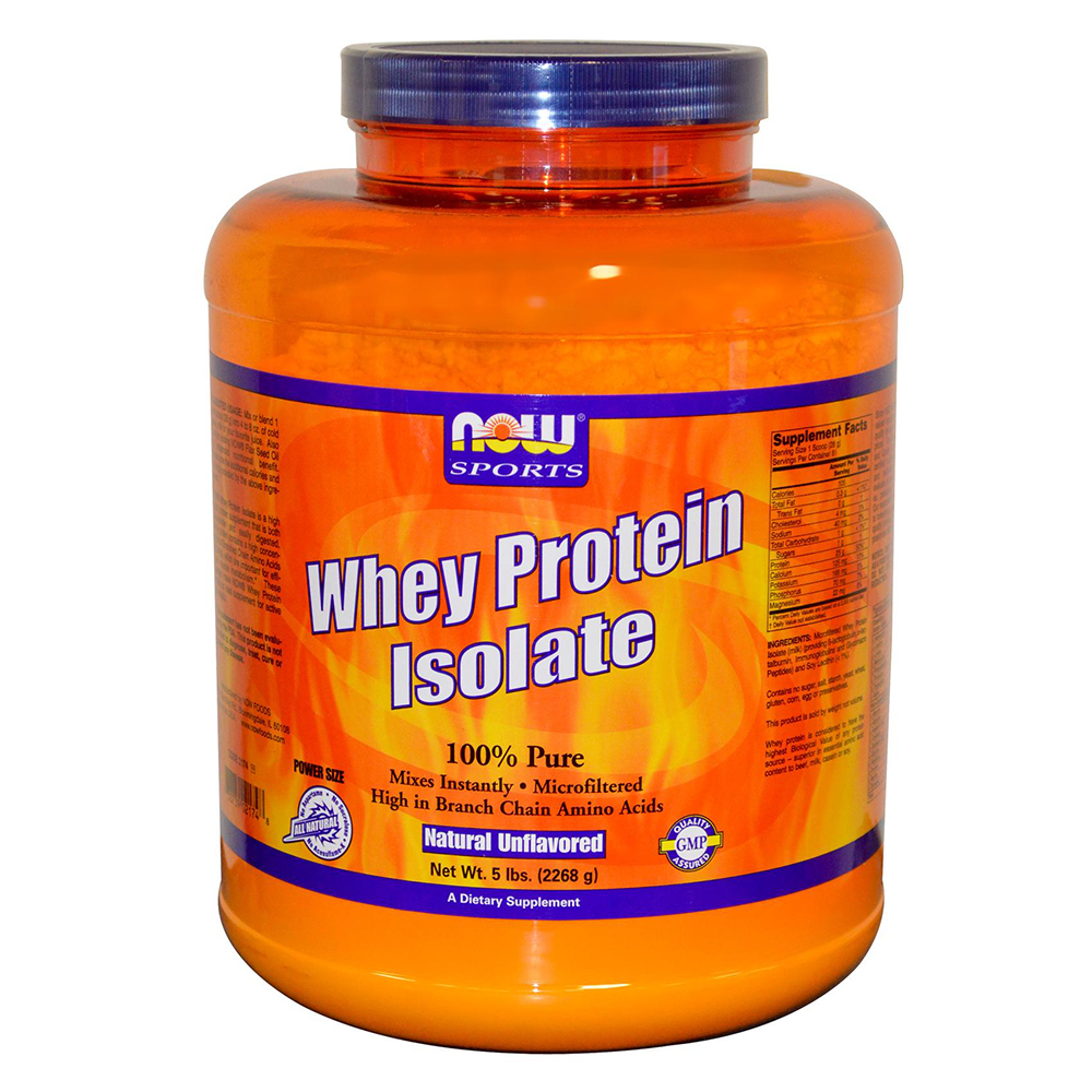NOW Sports - Whey Protein Isolate - Суроватъчен изолат