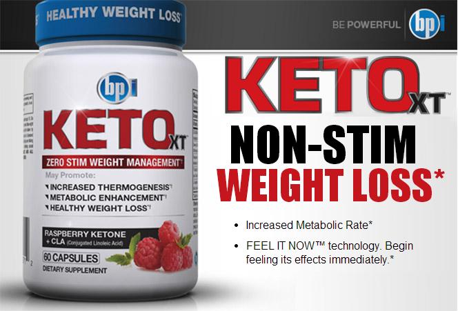 Термогенен Fat Burner с малинови кетони - Keto XT