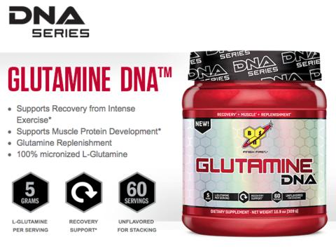 Glutamine DNA от новата серия на BSN