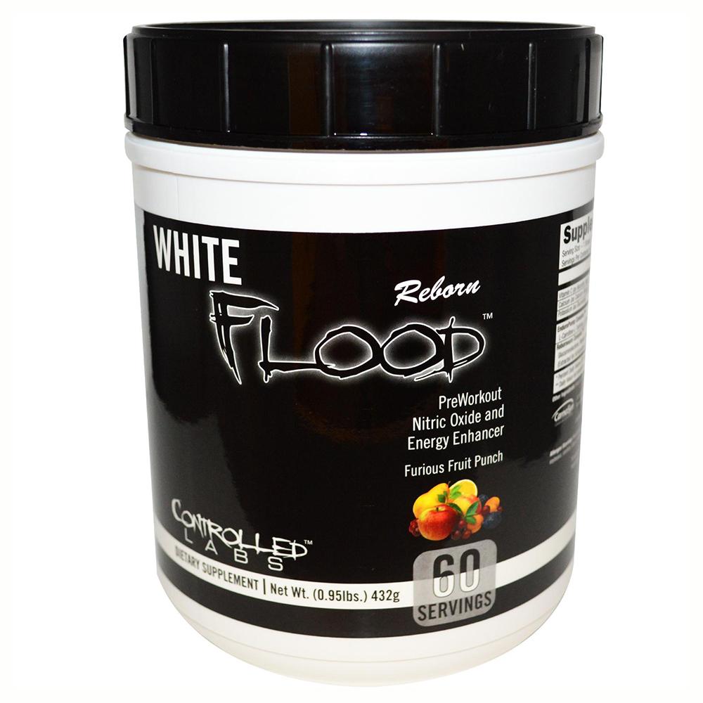 Новият мощен азотен буустър на Controlled Labs - White Flood Reborn