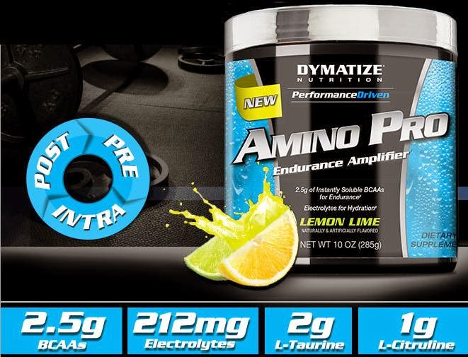 Верижноразклонени аминокиселини Amino Pro от Dymatize