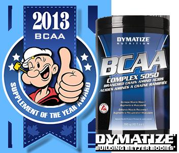 BCAA 5050 печели наградата за аминокиселинен продукт на 2013 година.