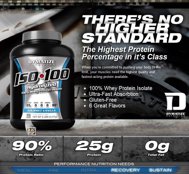 Хидролизиран суроватъчен протеин изолат - ISO 100