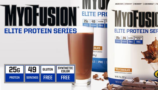 MyoFusion Elite е протеинова матрица от Gaspari с 4 източника на протеин