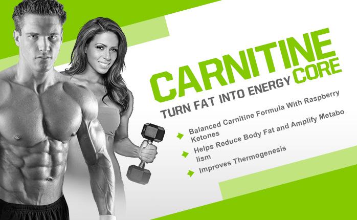 Изгори мазнините с Carnitine Core от MusclePharm