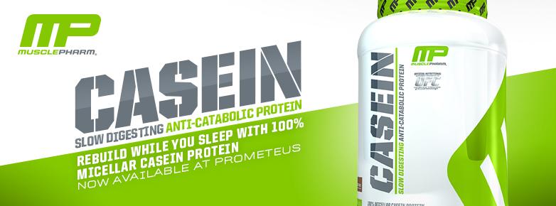 Бавноусвоим протеин - казеин от MusclePharm - Core Casein