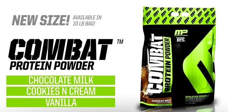 Combat Powder от MusclePharm - в голяма разфасовка от 4545 гр. (10lb.)