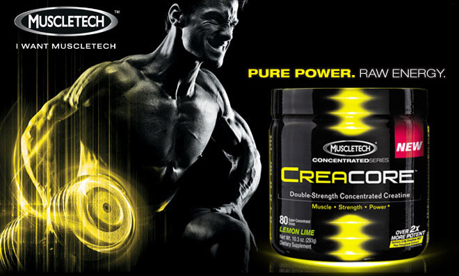 CreaCore комбинира Креатин Хидрохлорид и Сминдук.