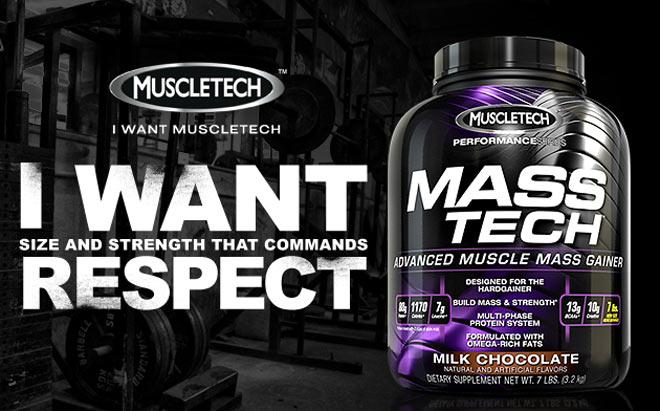 Гейнър за истински резултати - Mass Tech от MuscleTech