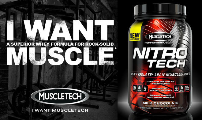 Nitro Tech представлява протеинова матрица с креатин, таурин, глицин и аланин