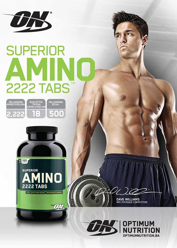 Комплексни аминокиселини Amino 2222