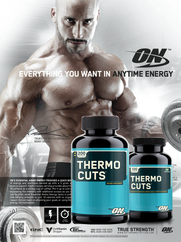 Термогенен фет бърнър Thermo Cuts от Optimum