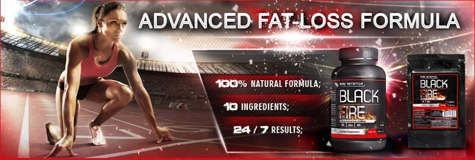 Супер потентна формула за отслабване - Black Fire от Pure Nutrition