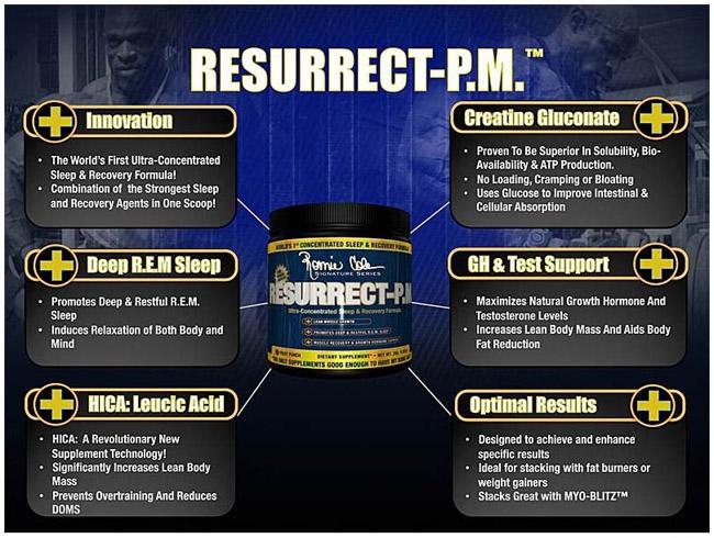 Ressurect PM е формула за подобряване на съня и увеличаване секрецията на растежния хормон