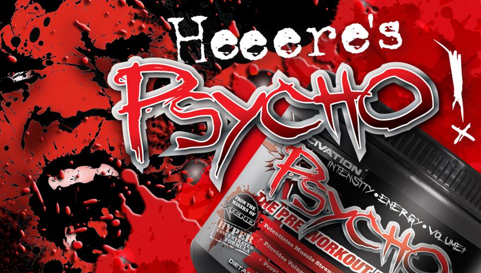 Psycho е уникален предтренировъчен азотен буустър от Scivation!