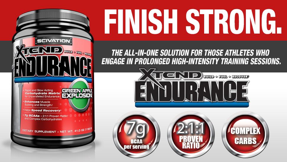 Повече издръжливост и отлично възстановяване с въглехидратната матрица Scivation - Xtend Endurance!
