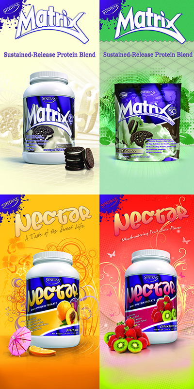 Матрични протеини от Syntrax - топ производител на хранителни добавки!